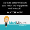 Mari Minute: Do <em>Third</em> <em>Party</em> Apps Hurt Facebook Reach & Engagement?
