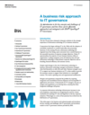 A <em>Business</em> Risk Approach to IT <em>Governance</em>